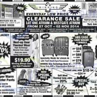 Read more about Winning Clearance Sale @ Lot One & Westgate 27 Oct - 2 Nov 2014