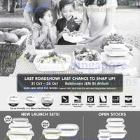 World Kitchen Corelle Roadshow @ Robinsons Jem 21 - 26 Oct 2014