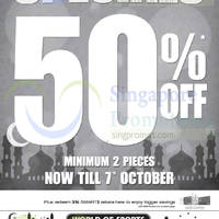 Read more about World of Sports 50% OFF Promo 2 - 7 Oct 2014