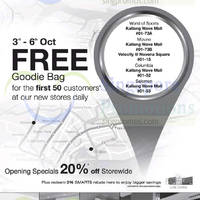 Read more about World of Sports 20% Off Opening Promo @ Kallang Wave 3 Oct 2014