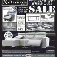 Read more about Xclusive Home Designer Furniture Warehouse Sale 11 - 12 Oct 2014
