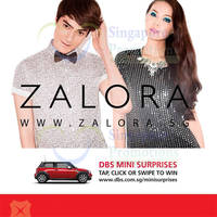 Read more about Zalora 15% OFF Storewide Promo Code For DBS Cardmembers 10 Oct - 31 Dec 2014