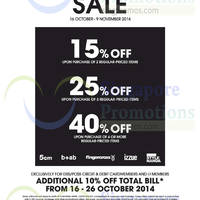 Read more about i.t Labels SALE 16 - 26 Oct 2014