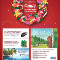 112 Katong Candy Christmas Activities & Promotion 1 - 31 Dec 2014