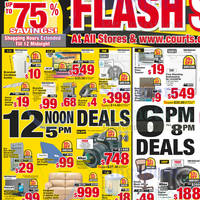 Read more about Courts Flash Sale Up To 75% Off 1-Day Offers 14 Nov 2014