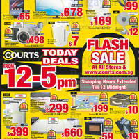 Read more about Courts Flash Sale Up To 80% Off 1-Day Offers 7 Nov 2014