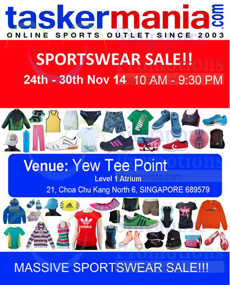 26 Nov Sale Location, Time