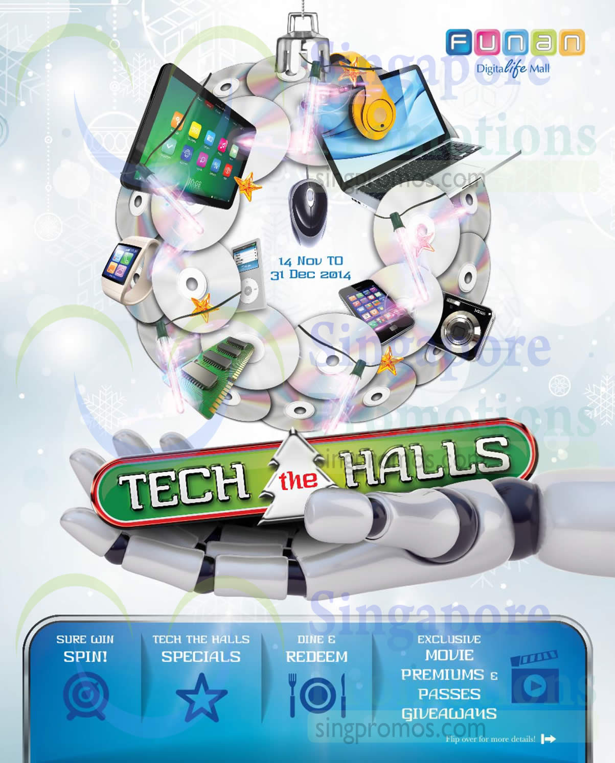 26 Nov Tech the Halls Promotions