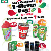 Read more about 7-Eleven Day Celebration Specials 5 - 11 Nov 2014