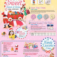 AMK Hub Sweet Season Of Giving Promotions & Activities 14 Nov - 28 Dec 2014