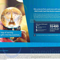 Read more about ANZ Festive Season Cash Credits & Lucky Draw Chances 17 Nov 2014 - 15 Jan 2015
