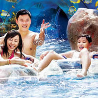 Adventure Cove Waterpark $50 For 2 Tickets For DBS/POSB Cardmembers 1 Nov 2014 - 31 Jan 2015
