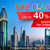 Agoda United Arab Emirates Hotels Flash Sale 24 - 27 Nov 2014