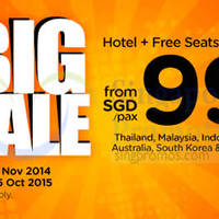 Read more about Air Asia Go Book A Hotel & Fly FREE 10 - 16 Nov 2014