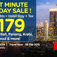 Read more about Air Asia Go Last Minute Getaway Holiday Promo 24 - 30 Nov 2014