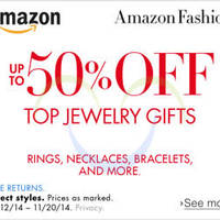 Read more about Amazon Up To 50% OFF Top Jewellery Gifts 13 - 21 Nov 2014