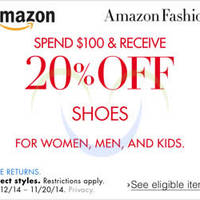 Read more about Amazon.com 20% OFF Shoes & Handbags Coupon Code 13 - 21 Nov 2014