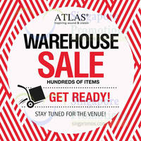 Read more about Atlas Audio/Visual Warehouse Sale 8 - 9 Nov 2014