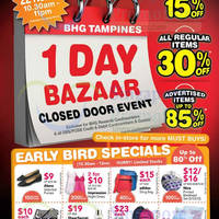 BHG Tampines 1-Day Sale 22 Nov 2014