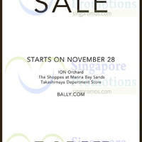 Bally Sale 28 Nov 2014