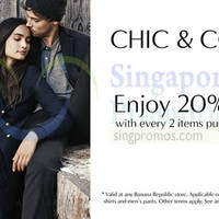 Read more about Banana Republic Buy 2 Items & Get 20% OFF 7 Nov 2014