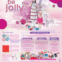 Bedok Mall Be Jolly Promotions & Activities 14 Nov - 31 Dec 2014