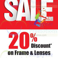 Read more about Better Vision 20% Off Sale 3 Nov 2014