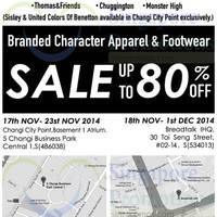 Read more about Branded Character Apparel & Footwear Sale @ BreadTalk IHQ 18 Nov - 1 Dec 2014