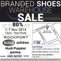 Read more about Footwear Marketing Branded Shoes Warehouse Sale 1 - 7 Nov 2014
