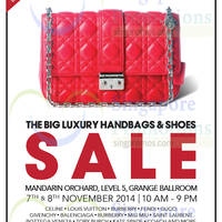 Read more about Brandsfever Handbags & Footwear Sale @ Mandarin Orchard 7 - 8 Nov 2014