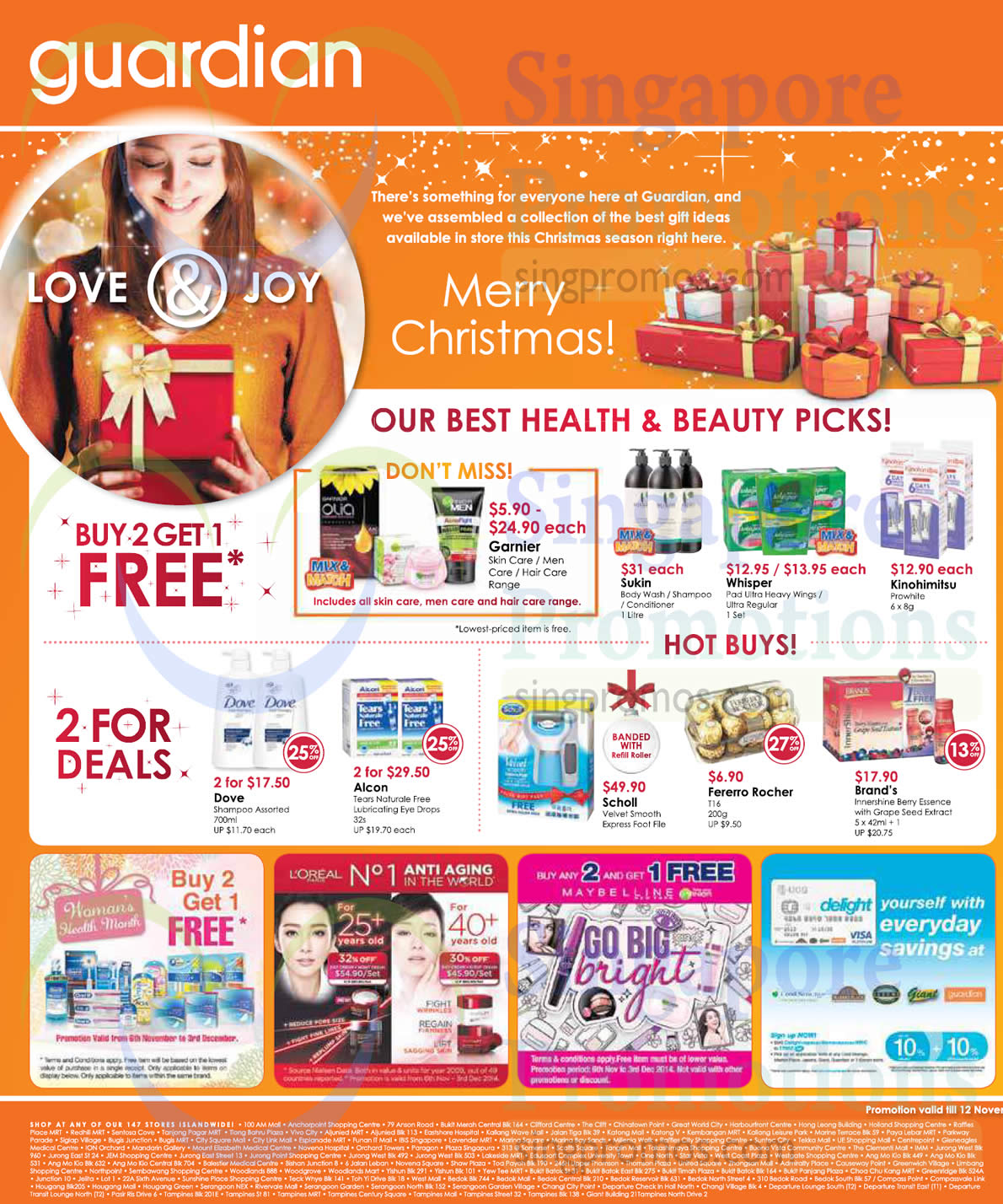 Buy 2 Get 1 Free, 2 For Deals, Hot Buys, Loreal, Maybelline