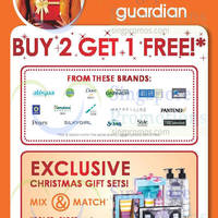 Read more about Guardian Buy 2 Get 1 Free Selected Brands 15 - 19 Nov 2014