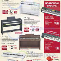 Read more about Casio Electronic Musical Instrument Roadshow @ AMK Hub 17 - 23 Nov 2014