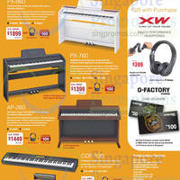 Read more about Casio Electronic Musical Instruments Year-End Bonanza Offers 7 Nov 2014 - 31 Jan 2015