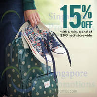 Read more about Cath Kidston Spend $300 & Get 15% OFF 4 - 30 Nov 2014