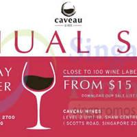 Read more about Caveau Wines Annual Sale 14 - 16 Nov 2014