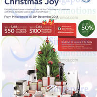 Read more about Philips Christmas Offers 1 Nov - 28 Dec 2014