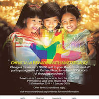 Read more about Mastercard Christmas Promotion @ Orchard Road 15 Nov 2014 - 1 Jan 2015