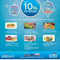 Citibank Up To 10% Citi Rebates @ BK, Sheng Siong, Prima Deli & More 27 Nov 2014