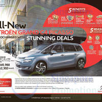 Read more about Citroen Grand C4 Picasso Features & Offer 22 Nov 2014