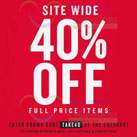 Read more about Cotton On 40% Off Black Friday Online Promo 28 - 30 Nov 2014