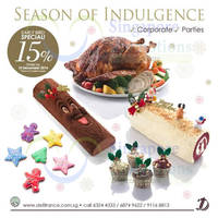 Read more about Delifrance 15% OFF Christmas Delights Early Bird Promo 12 Nov - 10 Dec 2014