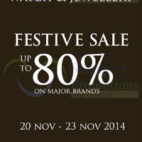 Read more about Dickson Watch & Jewellery Festive Sale 20 - 23 Nov 2014