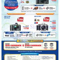 Read more about Olympus Digital Camera Offers 14 Nov - 31 Dec 2014