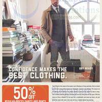 Read more about Dockers 50% OFF Shirts & Pants 14 Nov 2014
