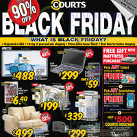 Read more about Courts Up To 90% Off 1-Day Black Friday Sale 28 Nov 2014