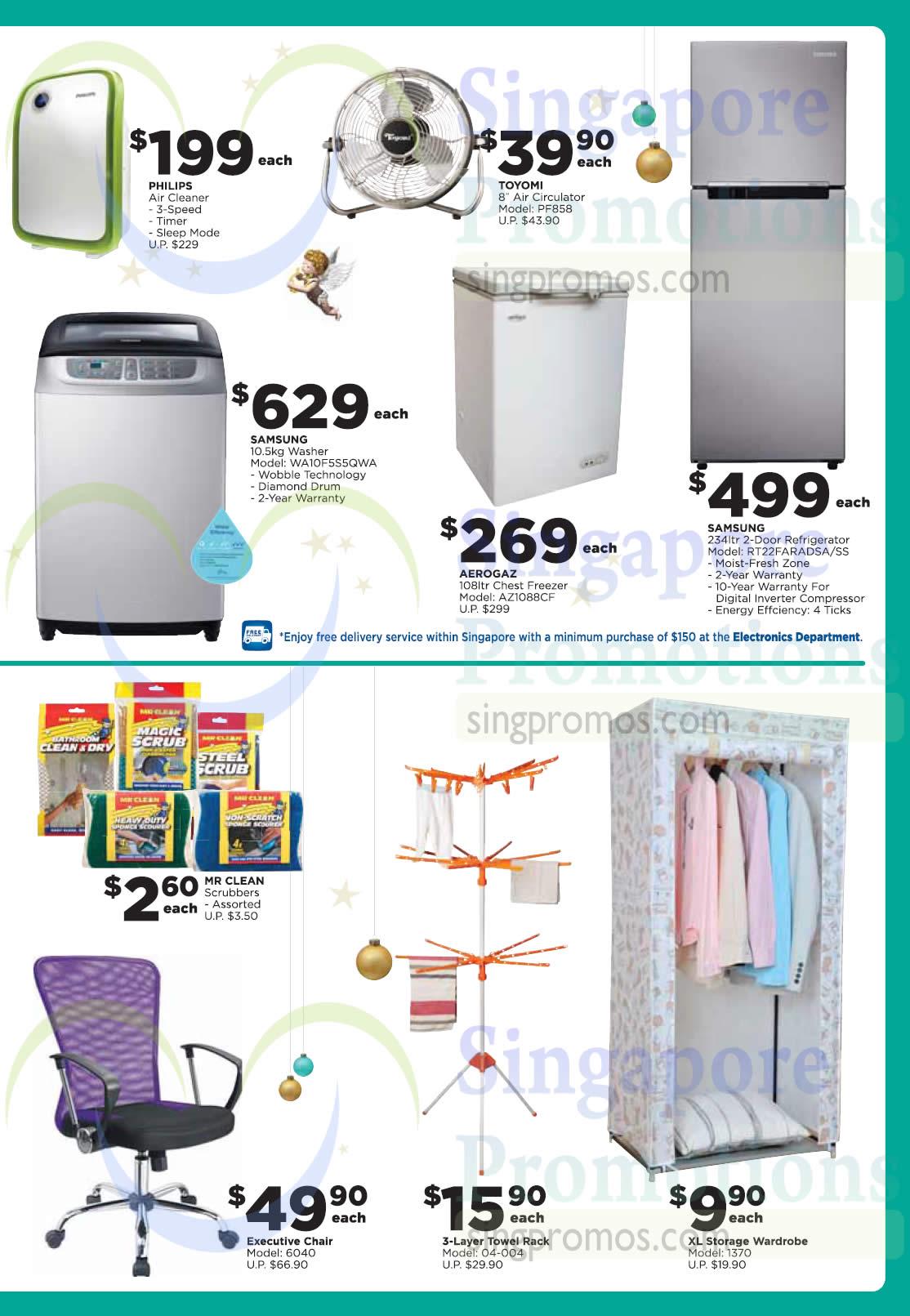 Electronics Home Basics Fridges Freezers Washers Air