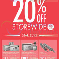 Eu Yan Sang 20% Off Storewide 3-Day Promo 21 - 23 Nov 2014
