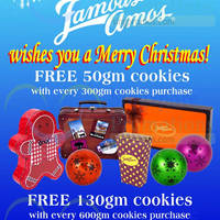 Read more about Famous Amos Up To 130g Free Cookies Promo 14 Nov 2014 - 4 Jan 2015