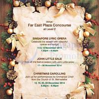 Read more about Far East Plaza Celebration Events 14 Nov - 23 Dec 2014